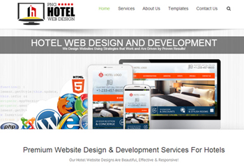 PNGHotels Web Design