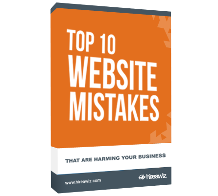 TOP 10 WEBSITE MISTAKES <br>THAT ARE HARMING YOUR BUSINESS