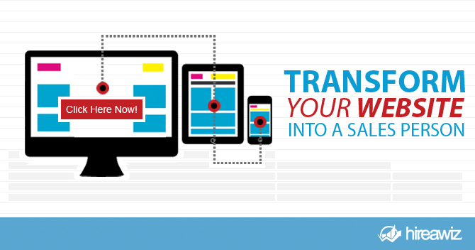 How to Transform Your Website Into the #1 Sales Person On Your Team