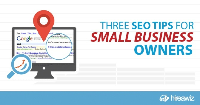 Three SEO Tips for Small Business Owners