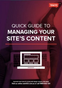 Quick Guide To Managing Your Site Content