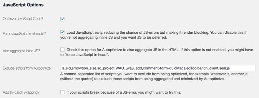 JS Option